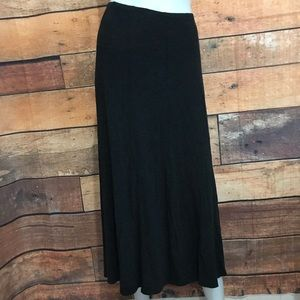 Eileen Fisher Midi Flare Skirt Sz M